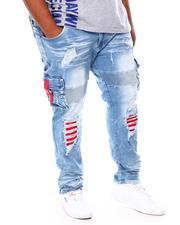 Jeans - Shredded Denim Jeans (B&T)-2694313