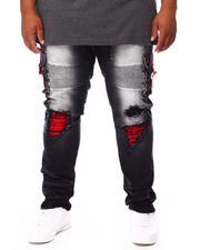 Jeans - Shredded Denim Jeans (B&T)-2694339