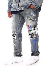 Jeans & Pants - Doodle Rocker Denim Jeans (B&T)-2692753