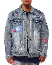 Outerwear - Doodle Rocker Patch Denim Jacket (B&T)-2692790