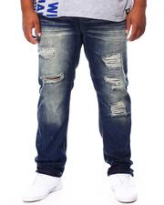 SWITCH - Distressed Slim Straight Denim Jeans (B&T)-2695536