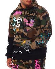 Hoodies - Doodle Fashion Fleece Hoodie (B&T)-2695593