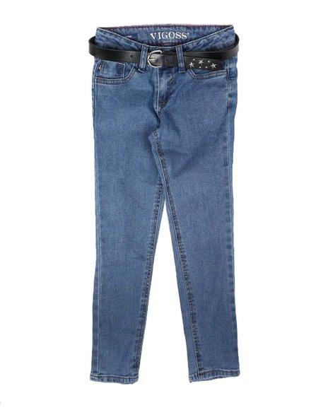 Vigoss Jeans - Star Studded Belt Jeans (7-14)