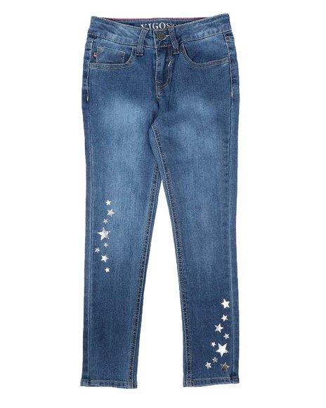 Vigoss Jeans - Sliver Star Skinny Jeans (7-16)