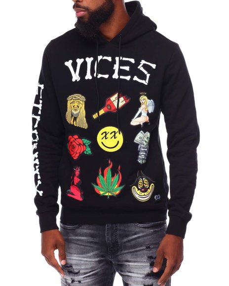Eternity BC / AD - VICES PATCHWORK HOODIE