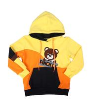 Boys - Logo Chenille Color Block Pullover Hoodie (4-13)-2695479