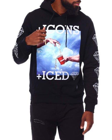 Eternity BC / AD - DIAMONDS DANCING ICONS HOODIE