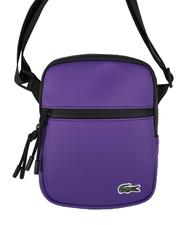 Lacoste - LCST Coated Canvas Small Flat Crossbody Bag-2694895