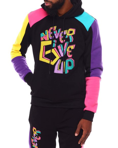SWITCH - Never Give UP Colorblock Hoodie
