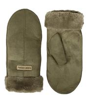 Winter Accessories - Cozy Mittens W/ Faux Fur Cuff-2696461