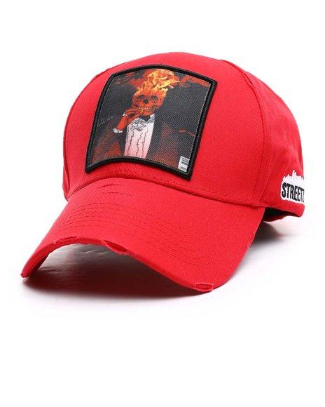 Streetz Iz Watchin - Skull Fire Dad Hat