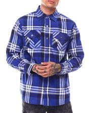 Shirts - Brit Plaid Buttondown Shirt-2695022