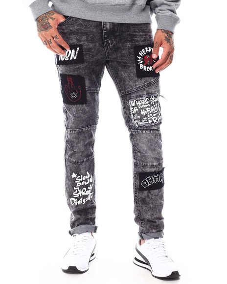 SWITCH - TWILL PATCHED Jean