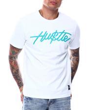 Shirts - HUSTLE HARD SAY LESS TEE-2696110