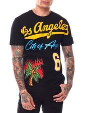 Shirts - LOS ANGELES CITY OF ANGELS TEE-2696710