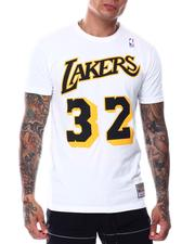 Mitchell & Ness - LOS ANGELES LAKERS Reload 2.0 Name & Number Tee - Magic Johnson-2697382
