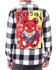 Shirts - Xo Teddy Flannel-2696911