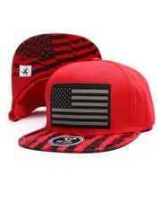 Snapback - US Flag Snapback Hat-2696886