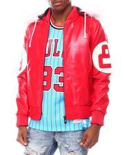 Leather Jackets - 8 Ball PU Jacket-2695522