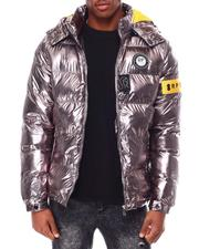 Going-Out-Outfits - Metallic Puffer Jacket-2695016