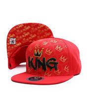 Snapback - King Multi Crown Snapback Hat-2697437