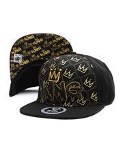 Snapback - King Multi Crown Snapback Hat-2697430