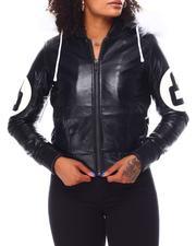 Outerwear - Ladies Pu Bomber-2696304