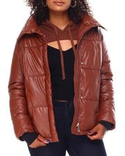 Steve Madden - Faux Leather Puffer-2696380