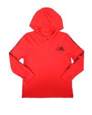 Adidas - Innovation Hooded Long Sleeve Tee (8-20)-2696490