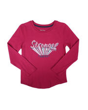 Tops - Stronger Every Day Long Sleeve Tee (7-16)-2696510