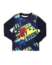 Born Fly - All Over Print Long Sleeve Tee (4-7)-2697126