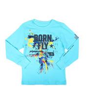 Born Fly - Splatter Graphic Long Sleeve T-Shirt (8-20)-2697151