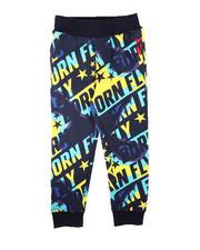 Born Fly - All Over Print Fleece Jogger Pants (4-7)-2697191