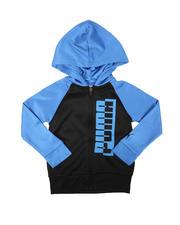 Hoodies - Amplified Fleece Zip Up Hoodie (4-7)-2697683