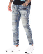 Jeans - Rip and Repair Stretch  Moto Jean-2697749