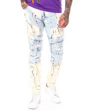 Jeans - Paint Splatter Moto Jean-2697912