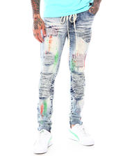 Jeans - Paint Brush Distressed Jean-2697931