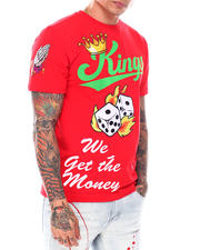 T-Shirts - KINGS WE GET THE MONEY TEE-2698009