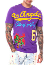 T-Shirts - LOS ANGELES CITY OF ANGELS TEE-2698329