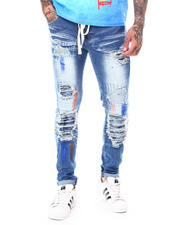 Jeans - Paint Brush Distressed Jean-2698523