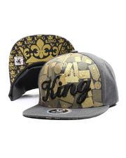 Buyers Picks - King Script Snapback Hat-2697461