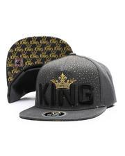 Buyers Picks - King Gold Crown Snapback Hat-2697445