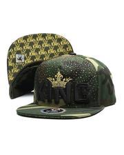 Buyers Picks - King Gold Crown Snapback Hat-2697449