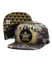 Buyers Picks - King Crown Gold Splat Snapback Hat-2697450