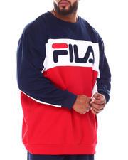 Pullover Sweatshirts - Colorblock Crewneck Top (B&T)-2698026