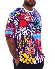 Akademiks - Legendary Graffiti T-Shirt (B&T)-2698320