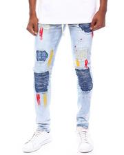 Jeans & Pants - Paint Brush Distressed Jean-2698459