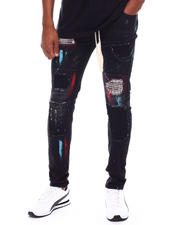 Jeans & Pants - Paint Brush Distressed Jean-2698484