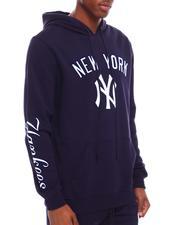 Hoodies - NEW YORK YANKEES STACKED LOGO HOODY-2701209