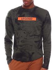 Long-Sleeve - LS AOP Legend Ink Marble Tee-2701139